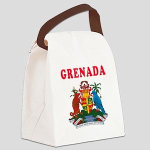 Grenada Coat Of Arms Designs Canvas Lunch Bag