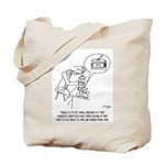 Microscope Cartoon 0745 Tote Bag