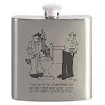 Plumbing Cartoon 2407 Flask