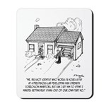Scientist Cartoon 1936 Mousepad