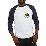 Canada Pride Baseball Jersey Rainbow Maple leaf