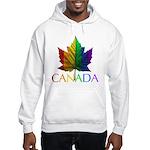 Canadian Gay Pride Hooded Sweatshirt