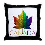 Gay Pride Canada Throw Pillows & Souvenirs