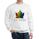 Canada Maple Leaf Gay Pride Sweatshirts & Gifts