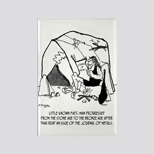 Anthropology Cartoon 1938 Rectangle Magnet