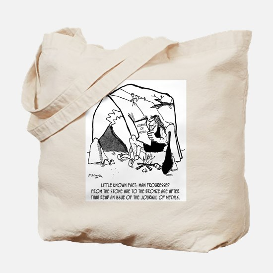 Anthropology Cartoon 1938 Tote Bag