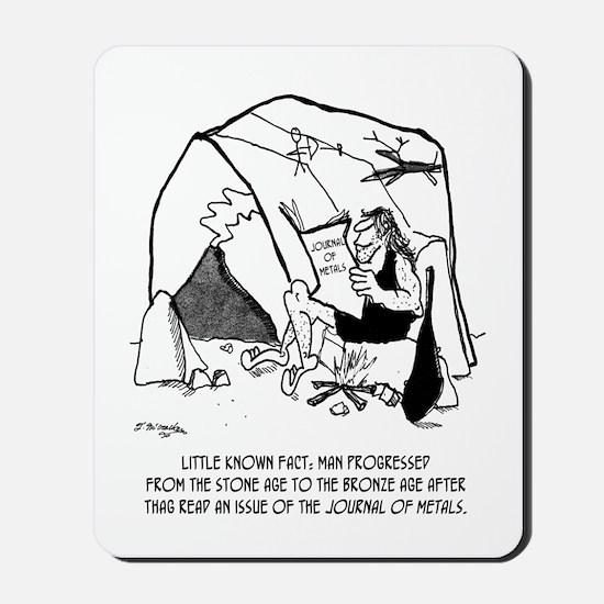 Anthropology Cartoon 1938 Mousepad