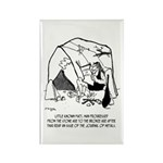 Anthropology Cartoon 19 Rectangle Magnet (10 pack)