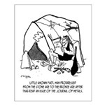 Anthropology Cartoon 1938 Small Poster