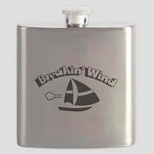 Breaking Wind Sail Boat Flask