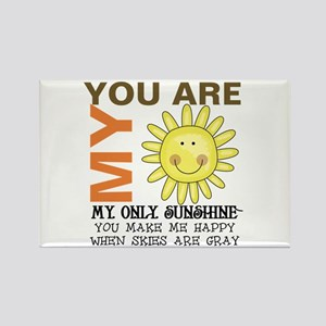 You Are My Sunshine Rectangle Magnet