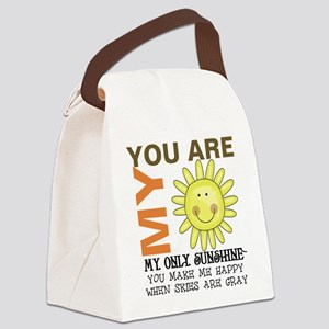 You Are My Sunshine Canvas Lunch Bag