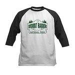 Mt Ranier NP Kids Baseball Jersey
