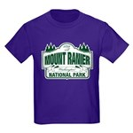 Mt Ranier NP Kids Dark T-Shirt