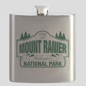 Mt Ranier NP Flask