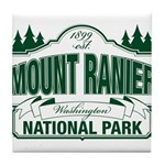 Mt Ranier NP Tile Coaster