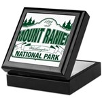 Mt Ranier NP Keepsake Box