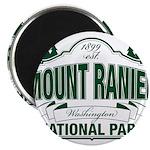 Mt Ranier NP Magnet