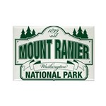 Mt Ranier NP Rectangle Magnet (10 pack)