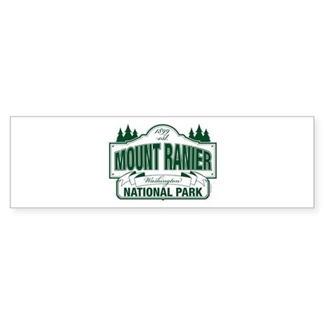 Mt Ranier NP Sticker (Bumper)