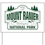 Mt Ranier NP Yard Sign