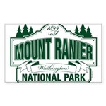Mt Ranier NP Sticker (Rectangle 50 pk)
