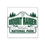 Mt Ranier NP Square Sticker 3