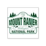 Mt Ranier NP Square Sticker 3