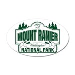 Mt Ranier NP 20x12 Oval Wall Decal