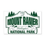 Mt Ranier NP 20x12 Wall Decal