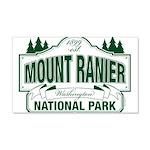 Mt Ranier NP 20x12 Wall Decal