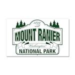 Mt Ranier NP Car Magnet 20 x 12