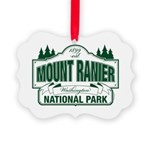 Mt Ranier NP Picture Ornament