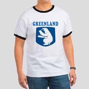 Greenland Coat Of Arms Designs Ringer T