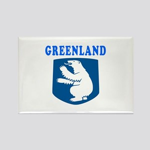 Greenland Coat Of Arms Designs Rectangle Magnet