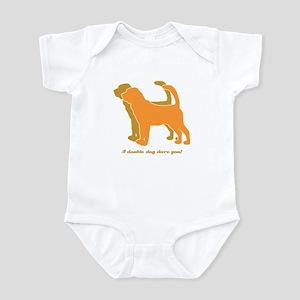 Bloodhound Doubld Dog Infant Bodysuit