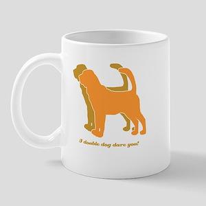 Bloodhound Doubld Dog Mug