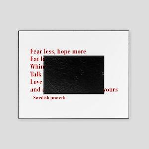 swedish-proverb-bod-burg Picture Frame