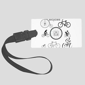 Bicycles May Use Full Lane Luggage Tag