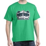 Mt Ranier NP Dark T-Shirt