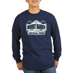 Mt Ranier NP Long Sleeve Dark T-Shirt