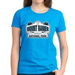 Mt Ranier NP Women's Dark T-Shirt