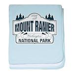 Mt Ranier NP baby blanket
