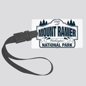 Mt Ranier NP Large Luggage Tag