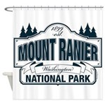 Mt Ranier NP Shower Curtain