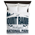 Mt Ranier NP Queen Duvet