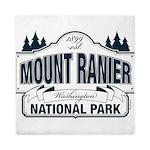 Mt Ranier NP Queen Duvet