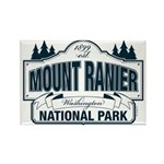 Mt Ranier NP Rectangle Magnet