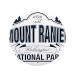 "Mt Ranier NP 3.5"" Button"