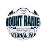 "Mt Ranier NP 3.5"" Button (100 pack)"